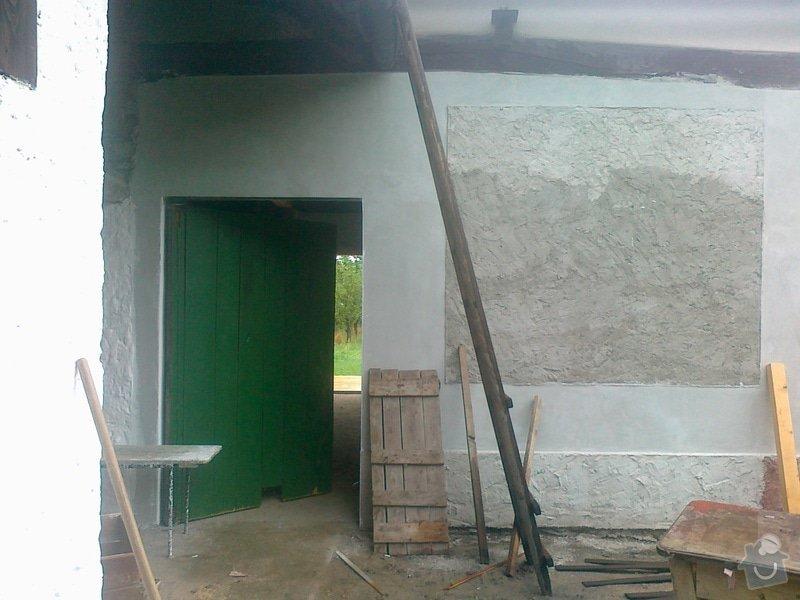 Přestavba stodoly a černá kuchyně: 110820141564
