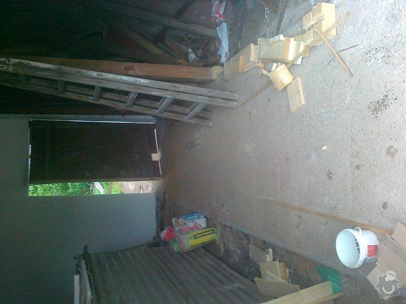 Přestavba stodoly a černá kuchyně: 110820141563