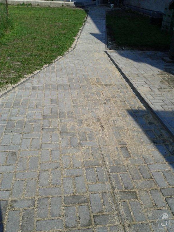 Pokládka venkovní dlažby 90 m2: dlazba_001