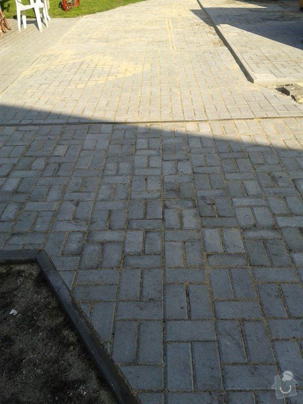 Pokládka venkovní dlažby 90 m2: dlazba_006