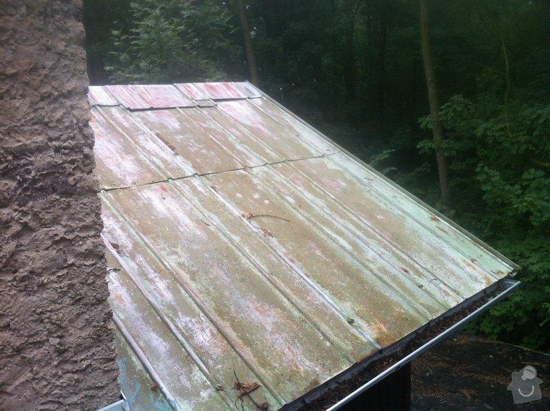 Nátěr plechové střechy (čištění, oprava): IMG_1535
