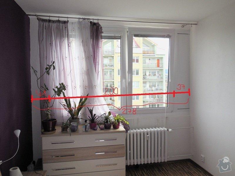 Vnitřní parapety do 4 pokojů: loznice_parapet
