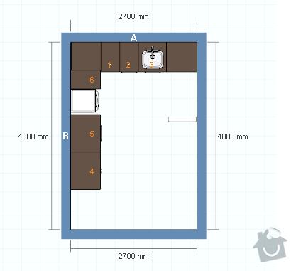 Montáž a instalace kuchyně Ikea: kuchyn_shora