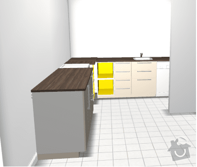 Montáž a instalace kuchyně Ikea: kuchyne_celo