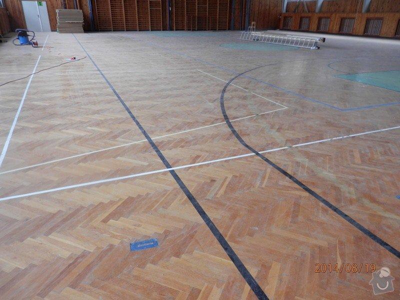 Ranovace podlahy tělocičny: P8190109