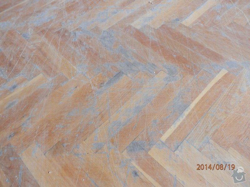 Ranovace podlahy tělocičny: P8190110