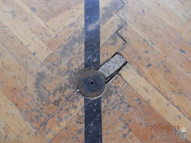 Ranovace podlahy tělocičny: P8190112