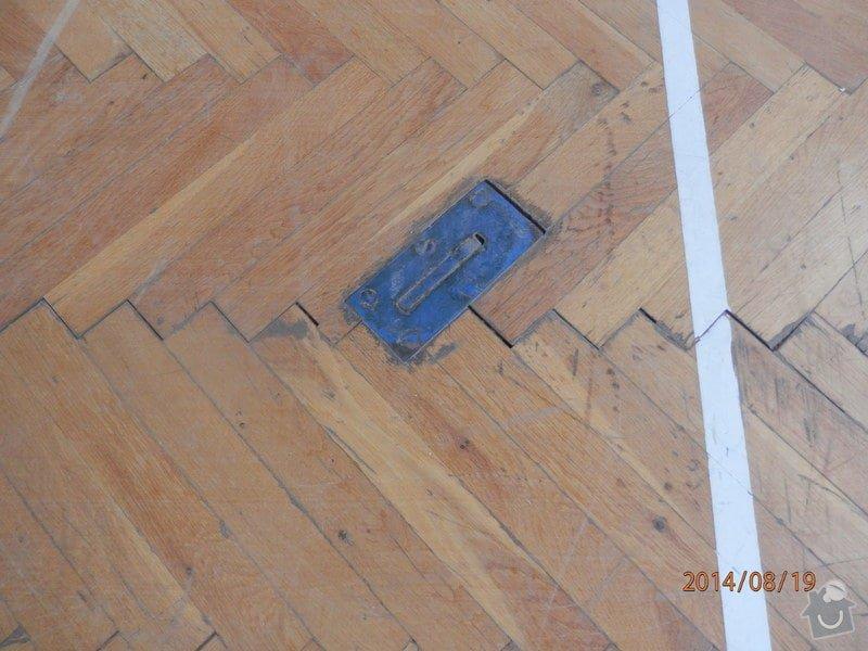 Ranovace podlahy tělocičny: P8190113