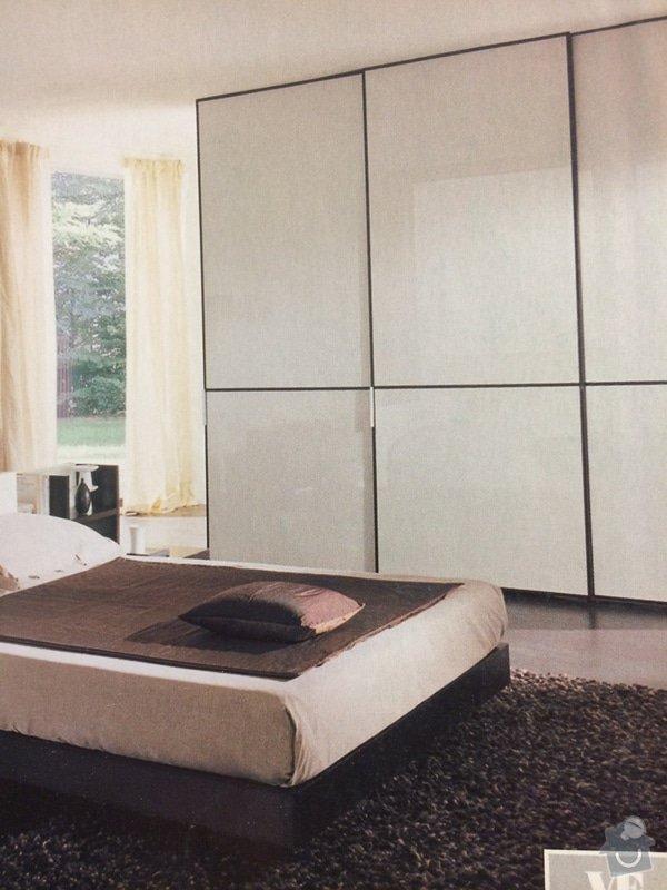 Výroba vestavěné skříně a nábytku do dětského pokoje: inspirace_-_loznice