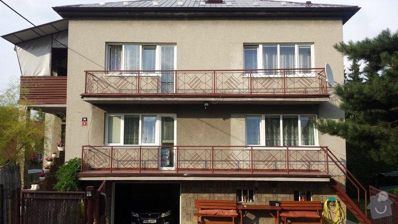 Balkonové plastové zábradlí: 20140729_181152