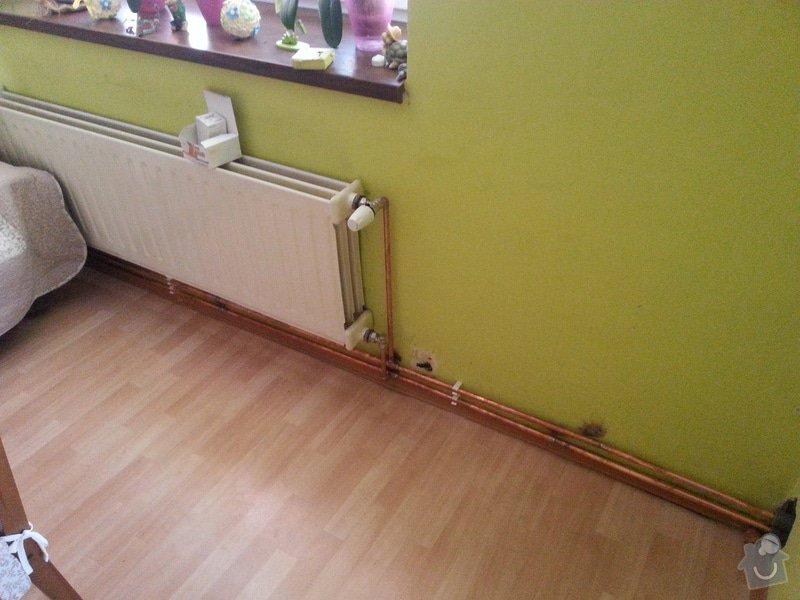 Prodej Automatický kotel Greeneco 20kW + montáž + rekonstrukce topení+ nový rozvod a dopojení do radiátorů.: 20140819_162851