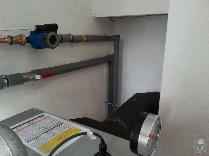 Prodej Automatický kotel Greeneco 20kW + montáž + rekonstrukce topení+ nový rozvod a dopojení do radiátorů.: 20140819_163132