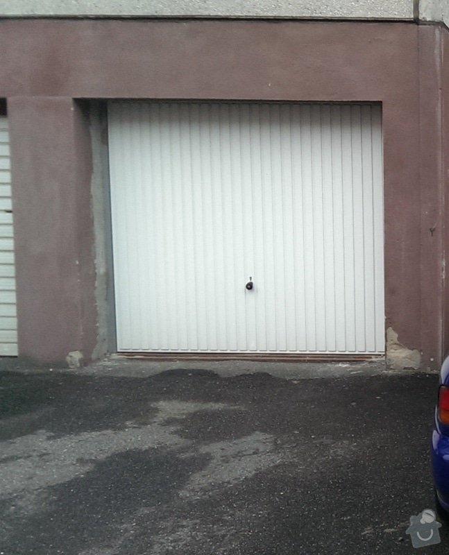 Vymena garazovych vrat za vrata Hörmann: Hormann