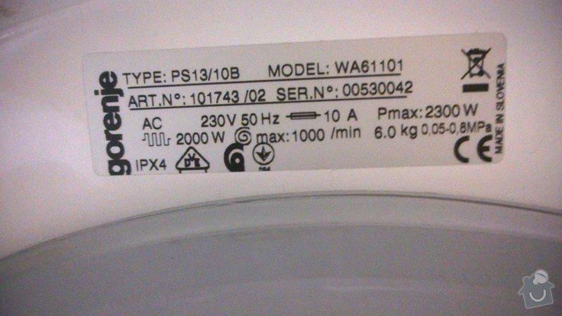 Oprava pračky: pracka