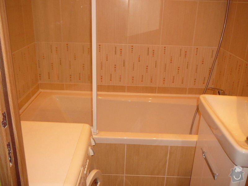 Rekonstrukce panelákové koupelny: 001