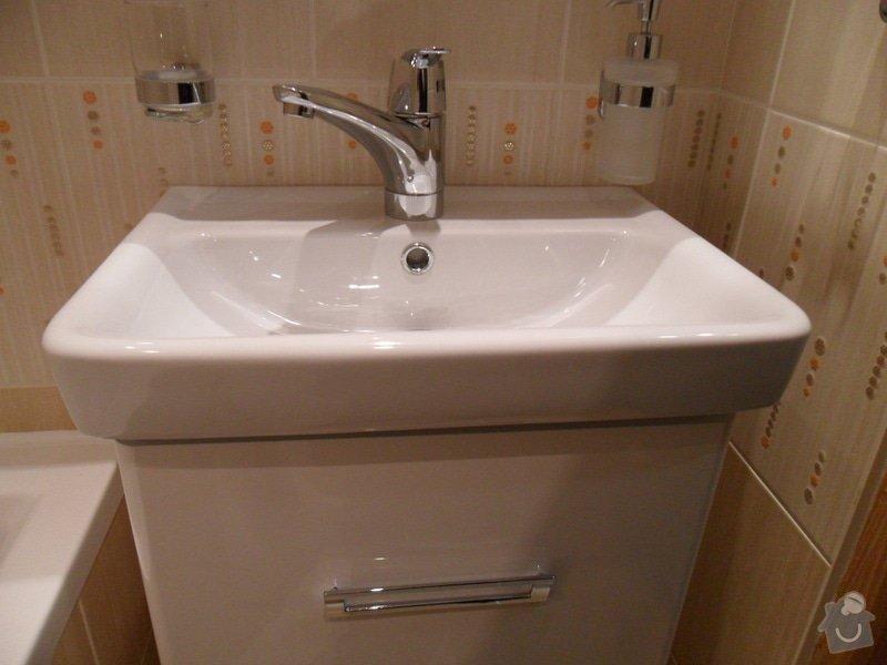 Rekonstrukce panelákové koupelny: SAM_1138