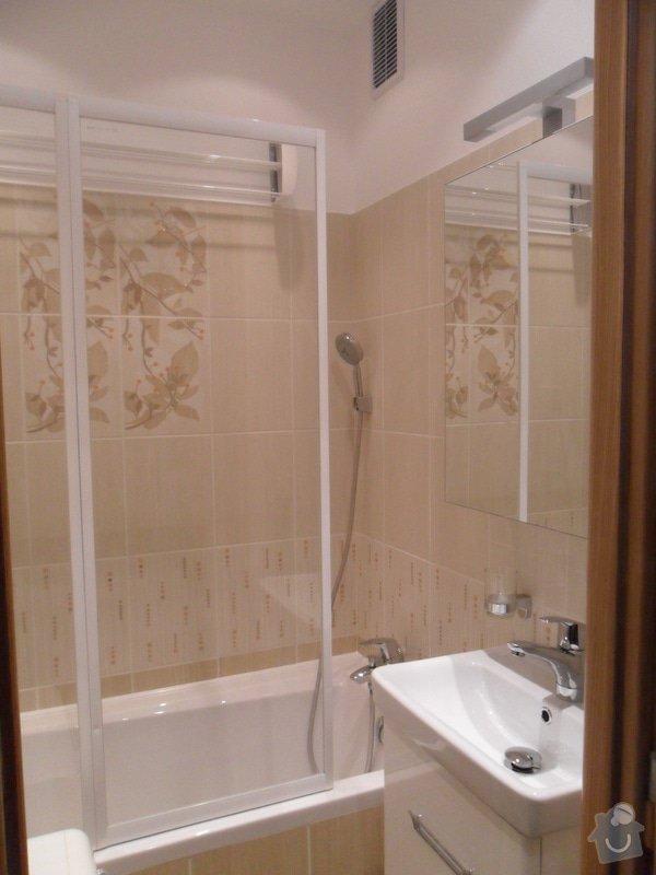 Rekonstrukce panelákové koupelny: SAM_1143
