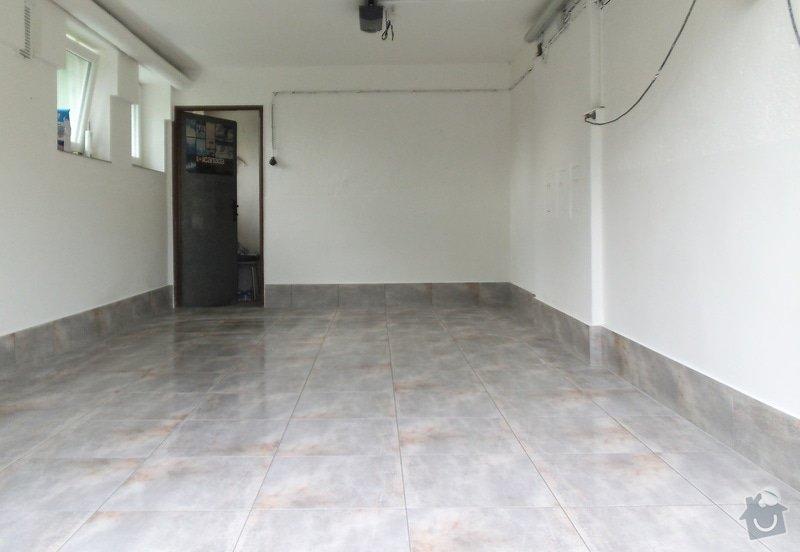 Renovace garáže: 01