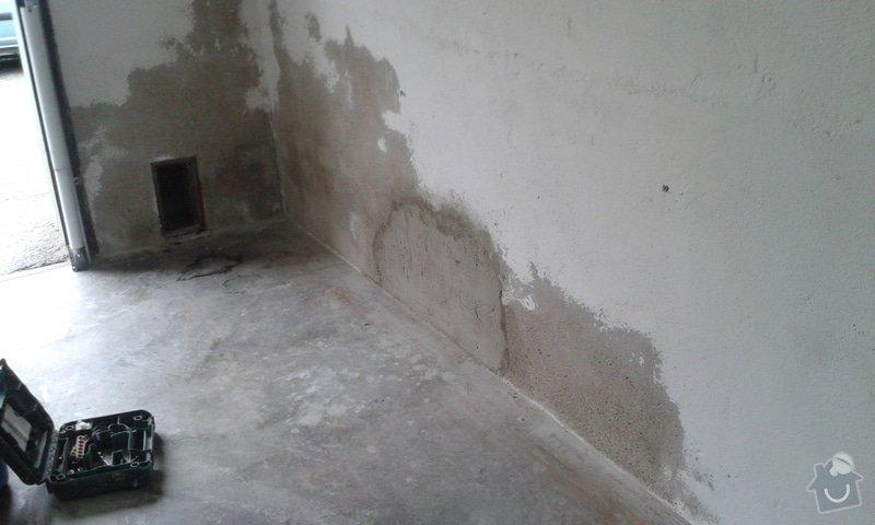 Renovace garáže: 02