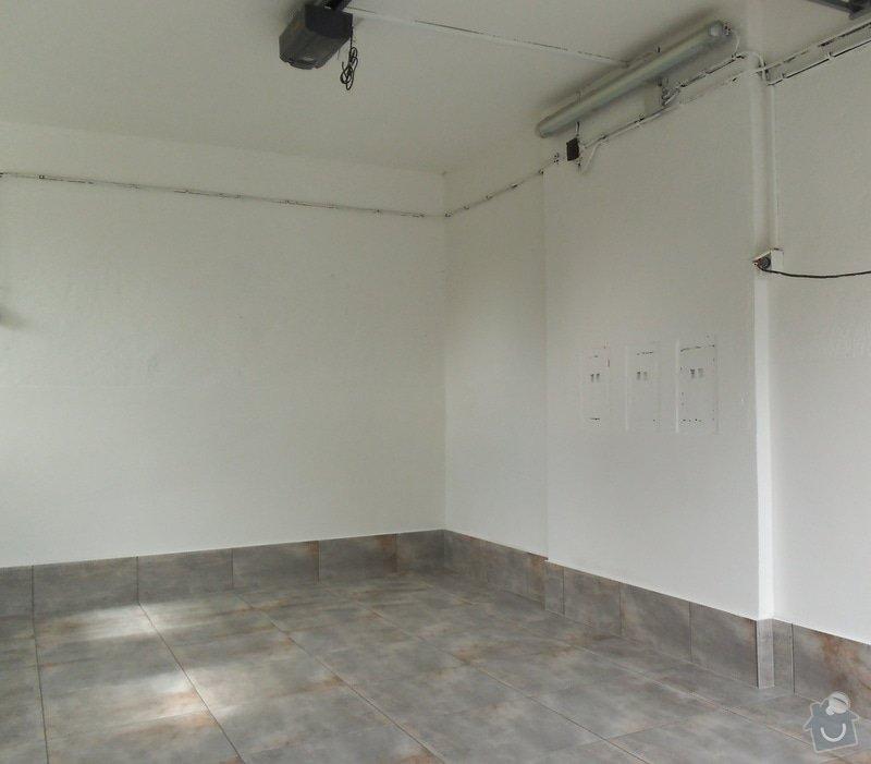 Renovace garáže: 04