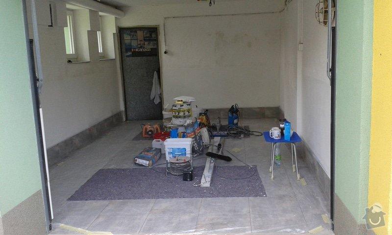 Renovace garáže: 06