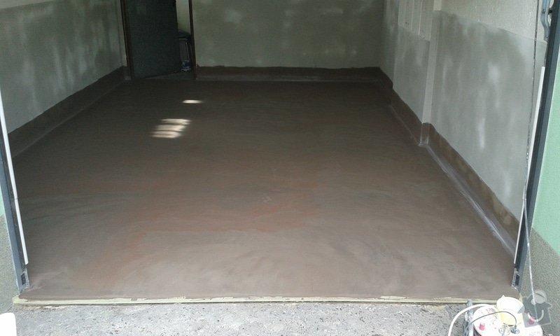 Renovace garáže: 09