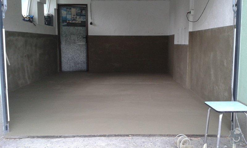 Renovace garáže: 11