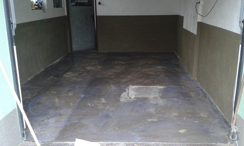 Renovace garáže: 12