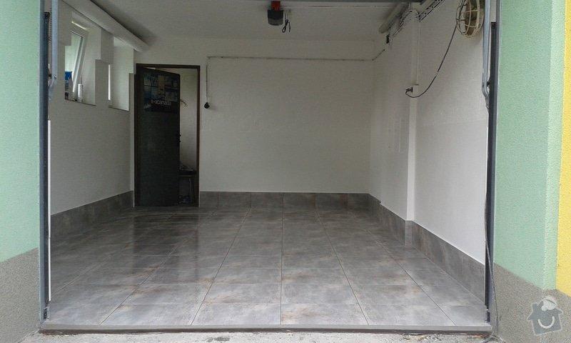 Renovace garáže: 15