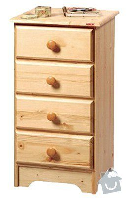 Lakování nábytku z masivu: komoda-gazel4