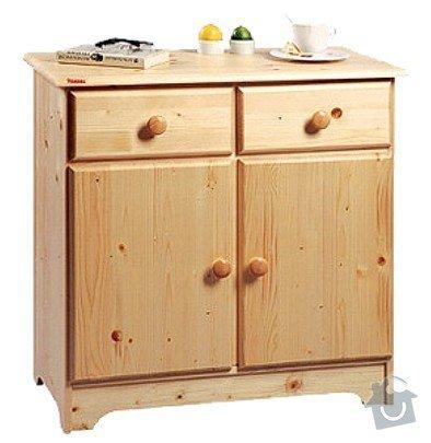 Lakování nábytku z masivu: komoda-dvirkova