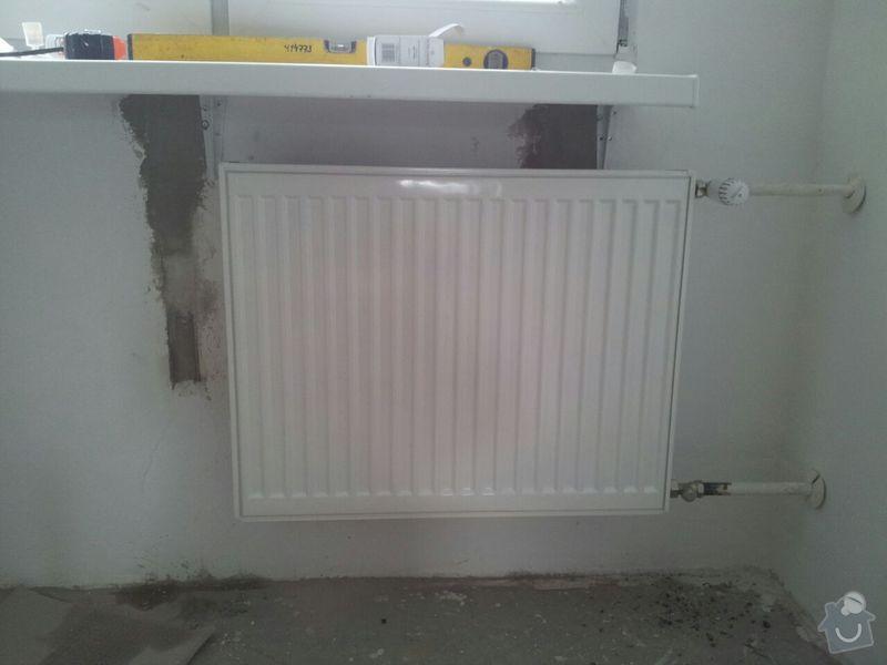Výměna radiátory 3ks, úprava trubek: IMG-20140821-WA0001