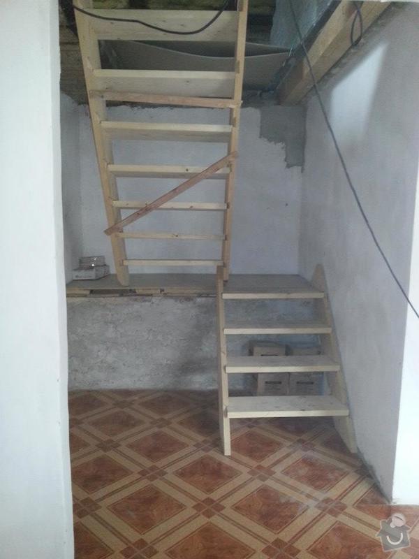 Výroba schodiště do podkroví: 535387_140068769487811_194980298_n