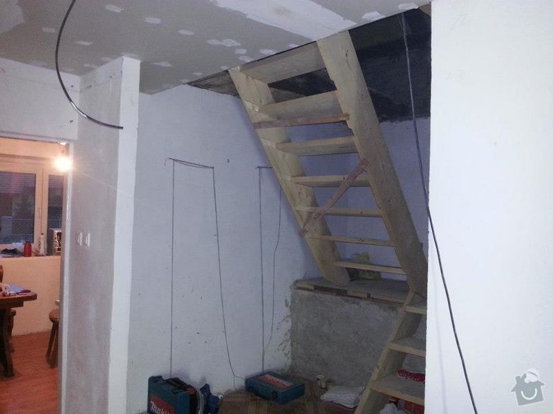 Výroba schodiště do podkroví: 379611_140403232787698_56047764_n