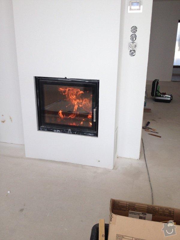 Dodávka a montáž podlahového topení, kompletní vodoinstalace, vybavení a zapojení technické místností, montáž teplovodní krbové vložky a instalace děšťové šachty vč. napojení na svody okapu: IMG_8366