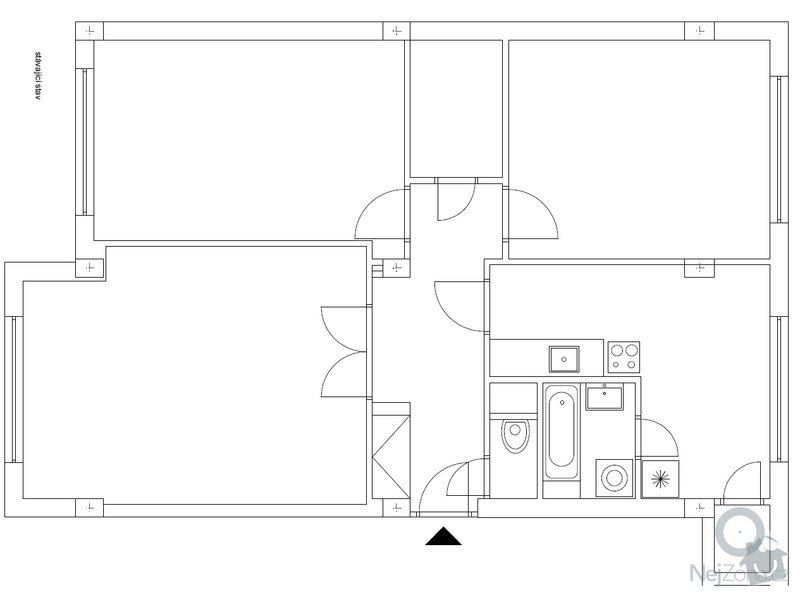 Návrh interiéru : stavajici