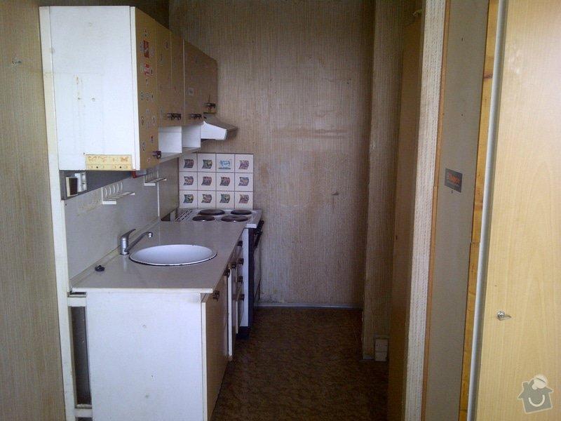 Rekonstrukce bytu 3+1 v panelovém domě, 74m2 - nabídky možné i po jednotlivých řemeslech.: Praha-20130424-00133