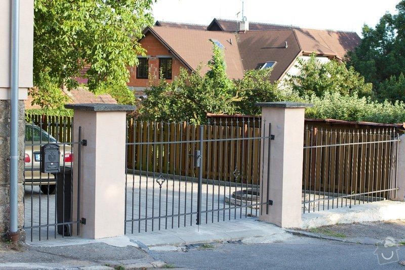 Bezúdržbový plot pro rodinný dům: IMG_0072