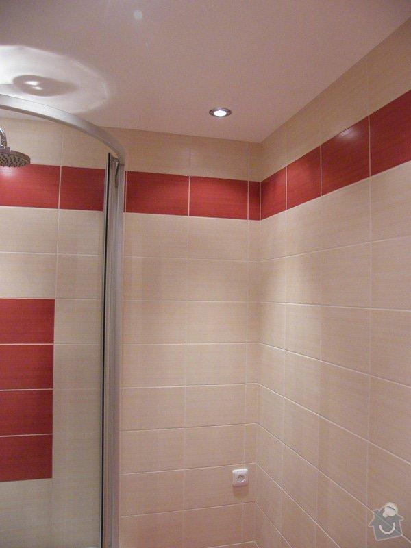 Rekonstrukce koupelny a WC: 007