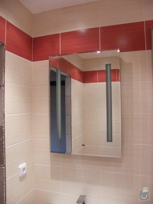 Rekonstrukce koupelny a WC: 010