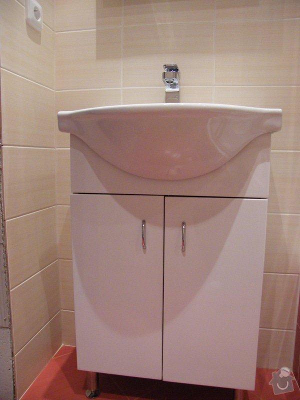Rekonstrukce koupelny a WC: 011