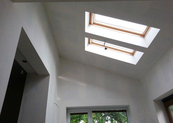 Vytvoření stěn a stropů v kuchyni a koupelně