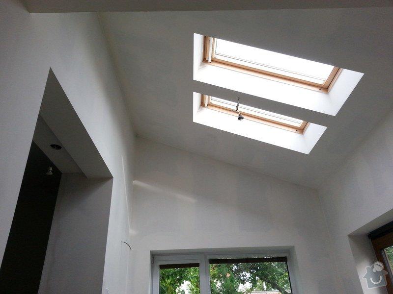 Vytvoření stěn a stropů v kuchyni a koupelně: 20140605_184609