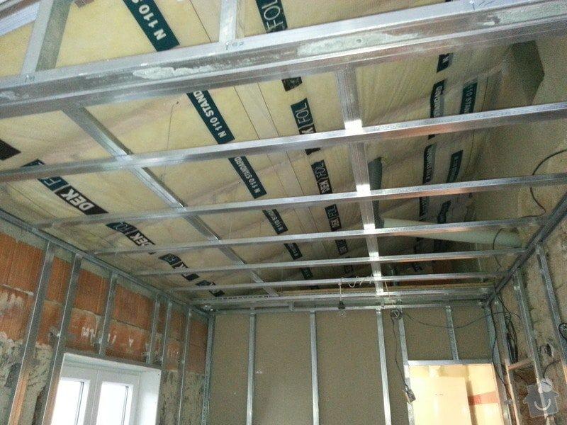 Vytvoření stěn a stropů v kuchyni a koupelně: 20131028_161809