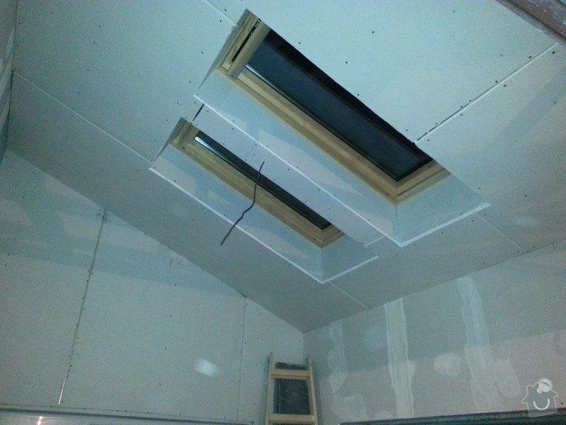 Vytvoření stěn a stropů v kuchyni a koupelně: 20131102_175947