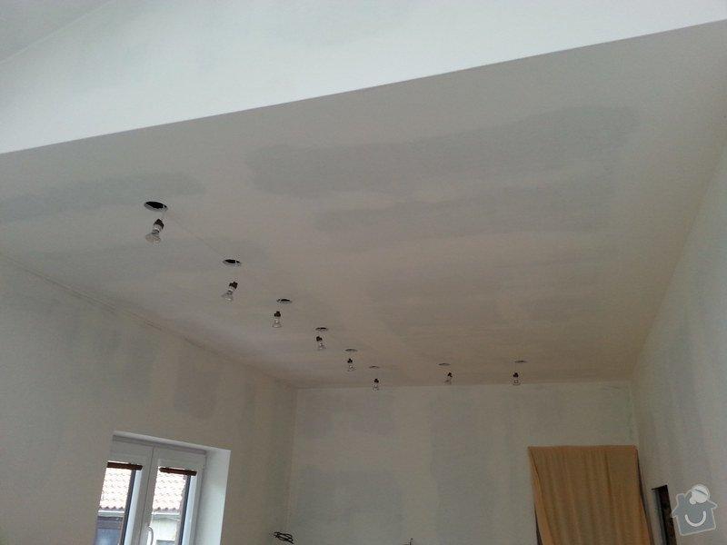 Vytvoření stěn a stropů v kuchyni a koupelně: 20140605_184528