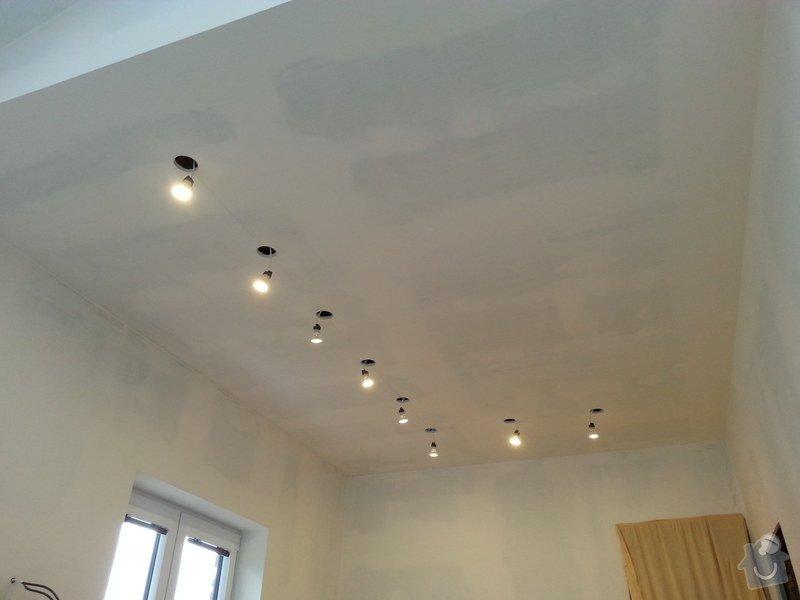 Vytvoření stěn a stropů v kuchyni a koupelně: 20140605_184538
