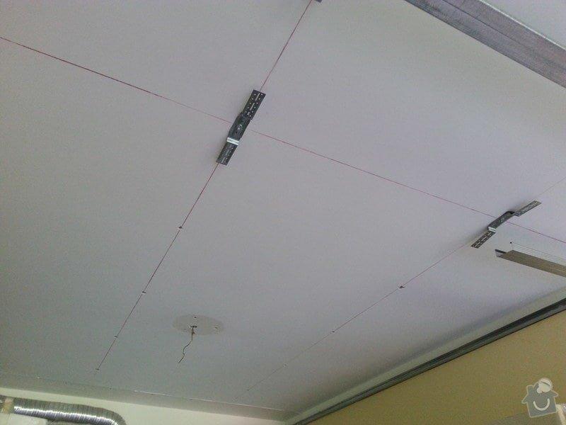 Odhlučnění stropu v obývacím pokoji: 20140505_111911