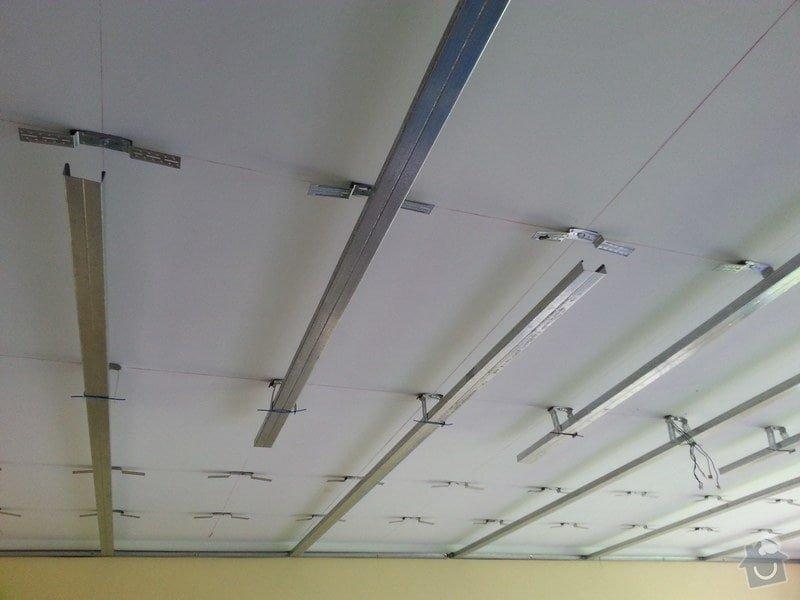Odhlučnění stropu v obývacím pokoji: 20140505_111915