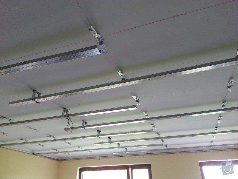 Odhlučnění stropu v obývacím pokoji: 20140505_111920